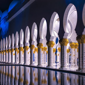 Beyond the limits by Manoj Kumar Kd - Buildings & Architecture Places of Worship ( grand mosque, dubai, mosque, uae, zayad mosque, abu dhabi )