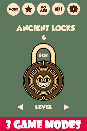 Ancient Locks:Pop The Old Lock