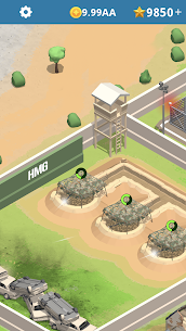 Idle Army Base Mod Apk 1.20.2 (Unlimited Money and Stars) 6