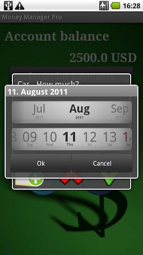 MoneyManager screenshot 1
