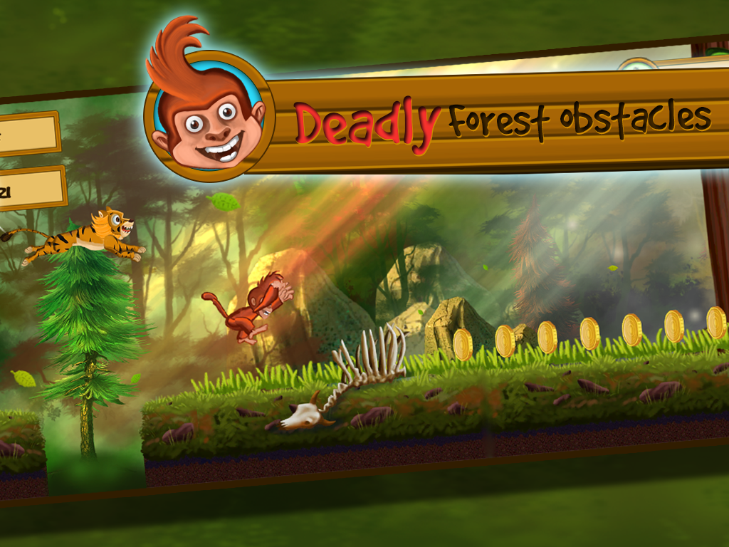 Monkey Vs Tigers- screenshot