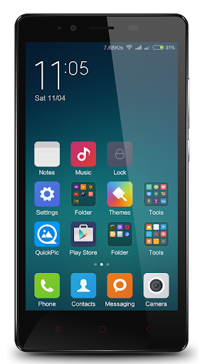 Launcher Theme - Redmi Note 3