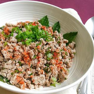 Super Simple Thai Larb Salad