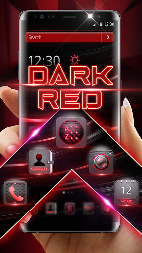Dark Red Launcher 5.31.10 screenshots 2