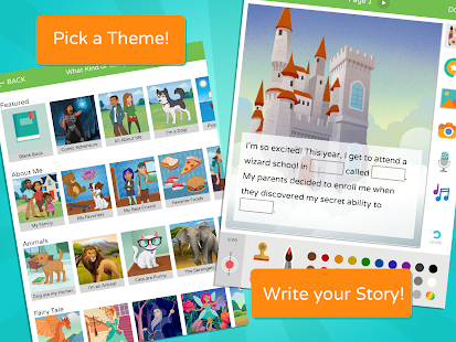 Scribble: Kids Book Maker- screenshot thumbnail