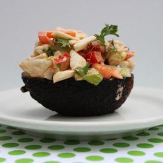 Spicy Lump Crab and Avocado Salad.
