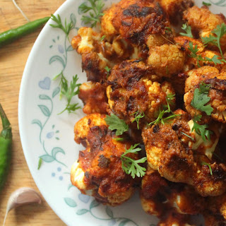 Keto Cauliflower Makhani Bites.