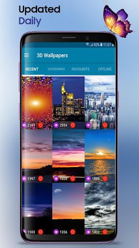 3D Wallpapers Backgrounds HD 1.9 screenshots 1