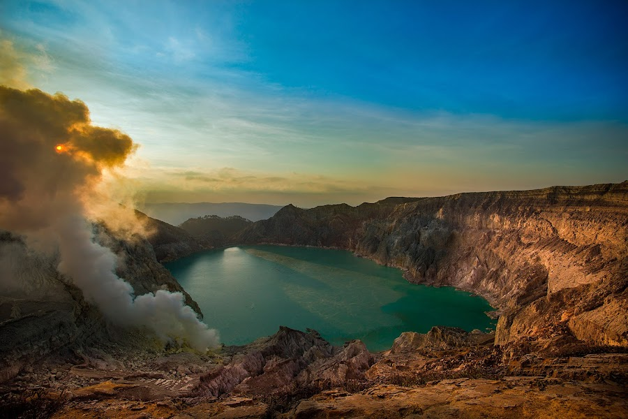 From the Top by Reza Arief - Landscapes Mountains & Hills ( #mountain, #ijen, #landscape, #eastjava, #indonesia )