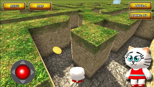 Maze Cartoon labyrinth 3D HD 1.0 screenshots 1