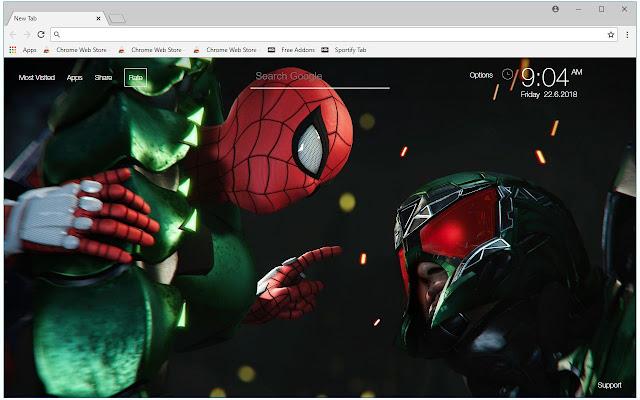 spider man ps4 hd