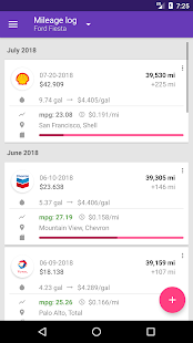 Fuelio: Gas log & costs Screenshot