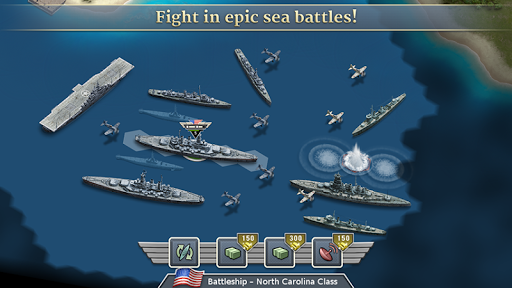 1942 Pacific Front - a WW2 Strategy War Game  screenshots 3
