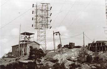 Photo: Hestheia. Greipstad-senderen. Ca. 1961/62.