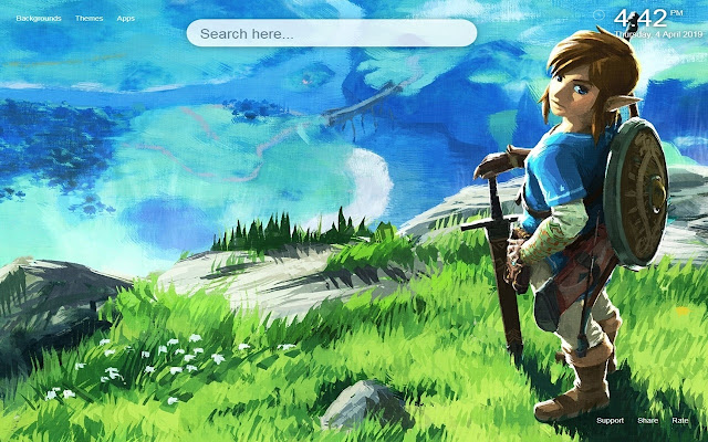 The Legend of Zelda Wallpapers&Themes