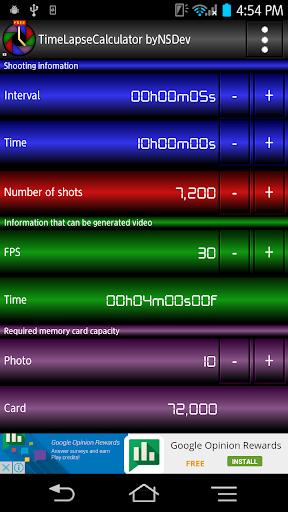 TimeLapseCalculator byNSDev 1.0.2 Windows u7528 1
