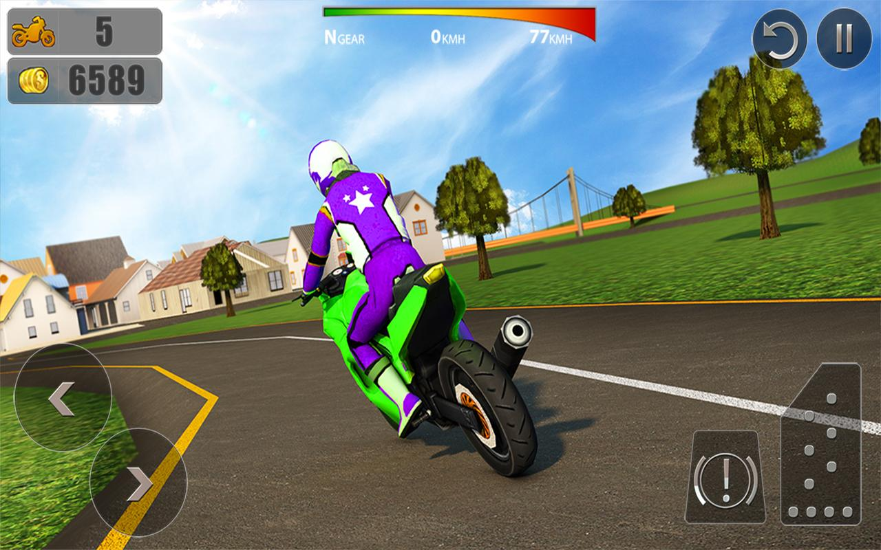 City Bike Driving 3D- screenshot