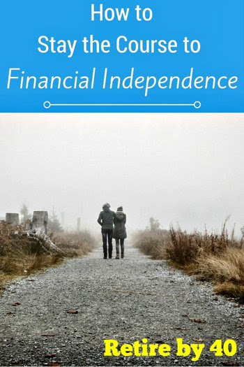 How to stay the course to Financial Independence