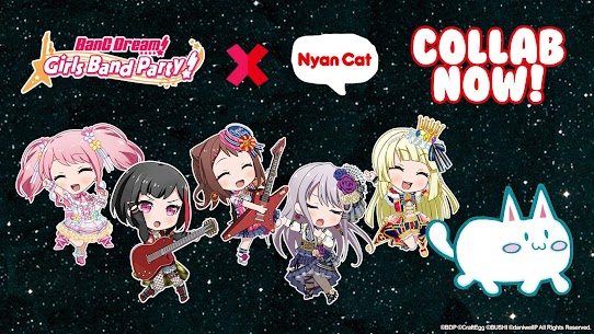 BanG Dream! Girls Band Party! Mod Apk 4.5.0 (Menu Mod + God Mode) 2