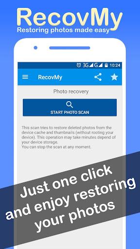 Restore Deleted Photos - RecovMy screenshot 5