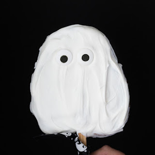 Ghost Cookies on a Stick
