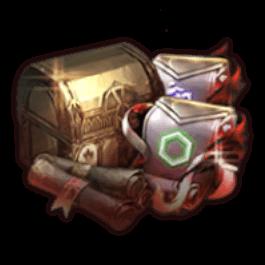 呪われたアーティファクト強化スクロール選択ボックス