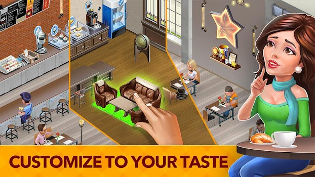 Hack My Cafe: Recipes & Stories - World Cooking Game