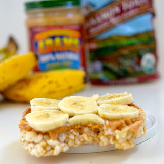 Peanut Butter Banana Power-Snack