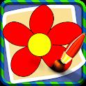 Les plantes Kids Coloring Book icon
