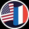 Translator French English icon