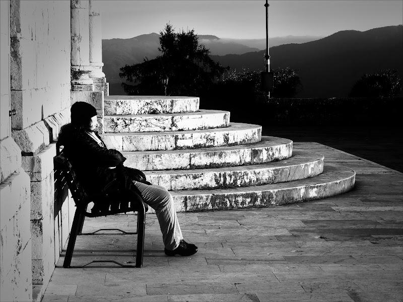 Il tramonto in solitudine. di claudio_sposetti