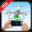 Drone Remote Control For All Drones Prank icon