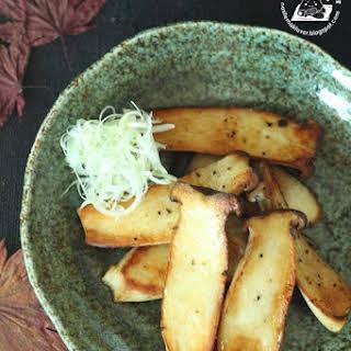 Japanese Salt Grilled Eryngii Mushrooms (Kinoko no shioyaki) 日式盐烧杏鲍菇.