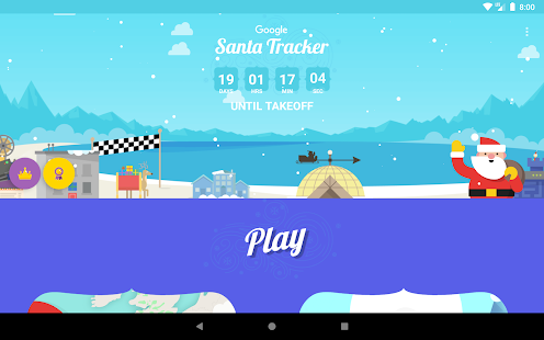 Google Santa Tracker- screenshot thumbnail