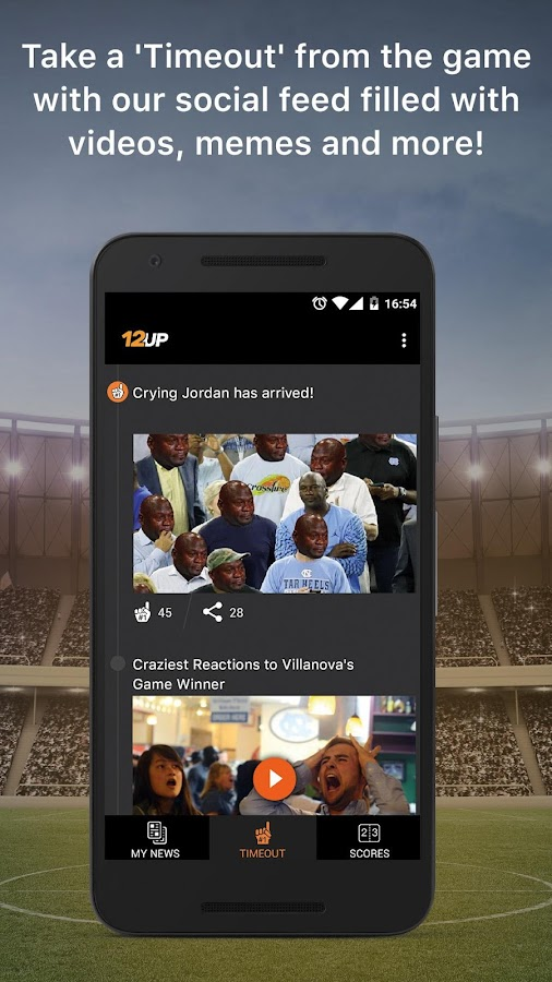 12up - Sports News & Scores- screenshot