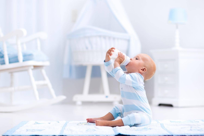 Koemelkallergie bij baby's