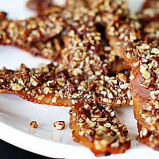 Maple Pecan-Crusted Bacon