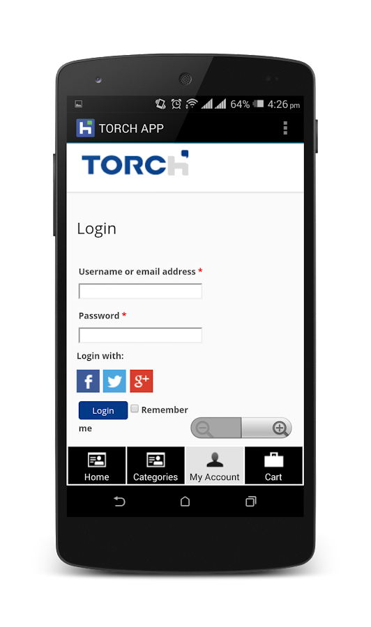 Torch Office Systems- screenshot