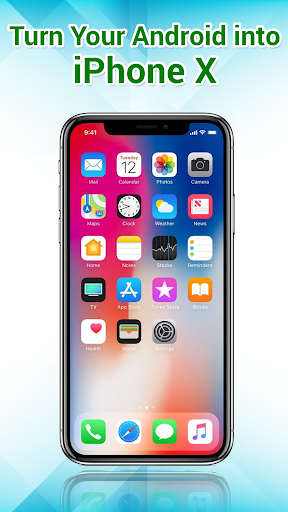 Phone X Launcher, OS 12 iLauncher & Control Center  screenshots 1