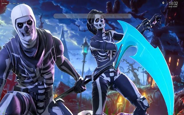 Skull Ranger Fortnite HD Wallpapers Tab