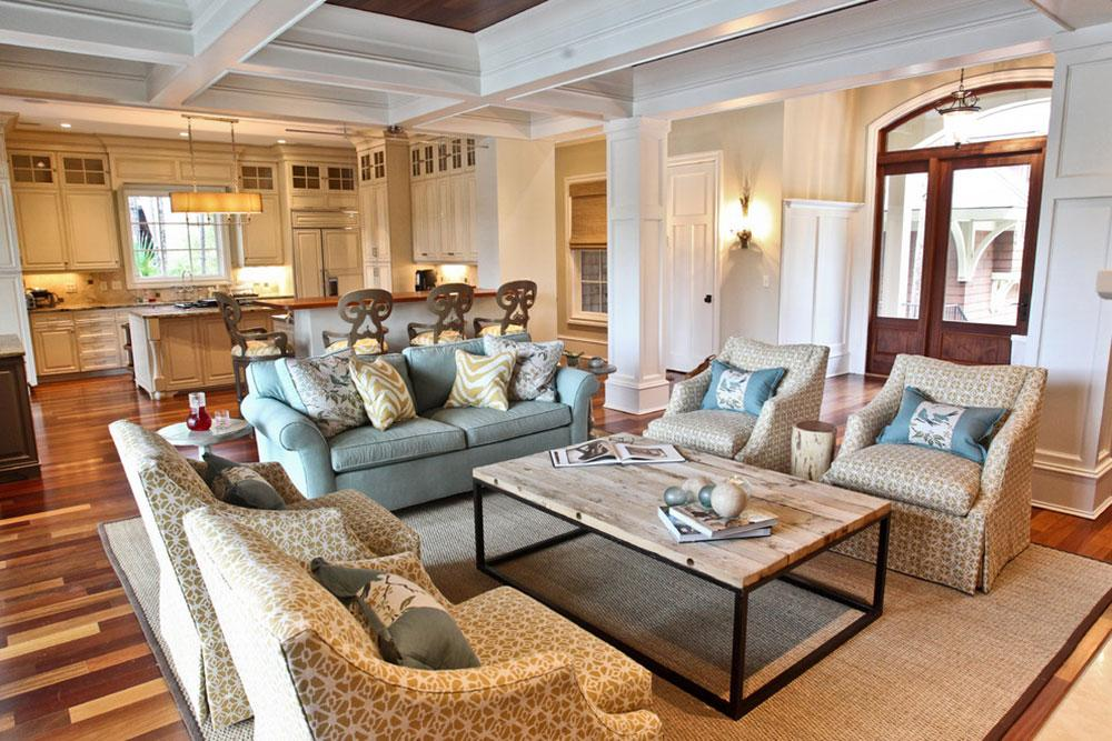 Kiawah-Family-Home-by-Margaret-Donaldson-Interiors How to arrange furniture in an awkward living room