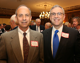 Photo: Judge Mitchell Kaplan (Superior Court) and BBA Past President Don Frederico (Pierce Atwood).