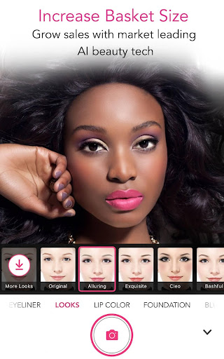 YouCam for Business u2013 In-store Magic Makeup Mirror 5.50.0 screenshots 2