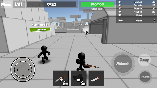 Stickman Unknown Battlegrounds Screenshot