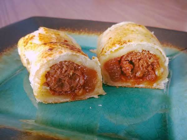 Pigs In A Blanket With Membrillo & Manchego