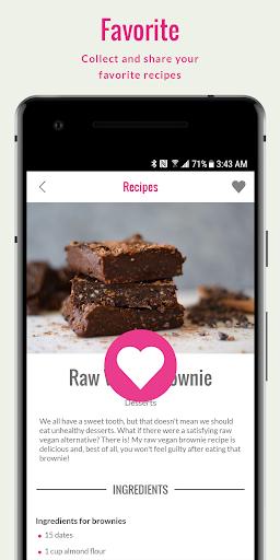 Rawvana's Raw Recipes screenshot