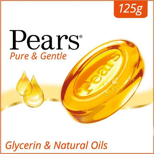 Pears Pure And Gentle Bath Soap - 125 gm  image