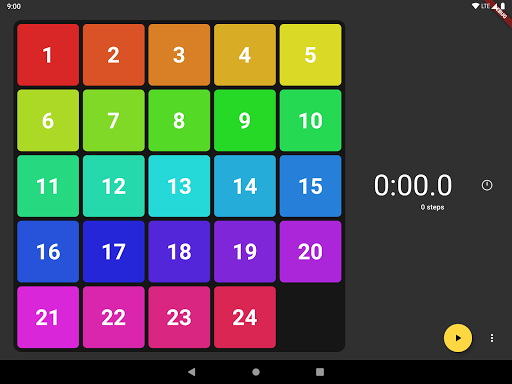 Game of Fifteen: 15-puzzle with Flutter screenshot 5