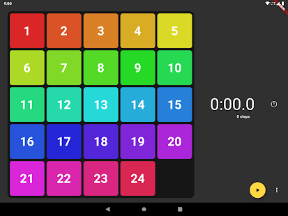 Game of Fifteen:Flutterを使用した15パズル