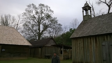 Photo: Fort St. Jean Baptiste tour guide Natchitoches